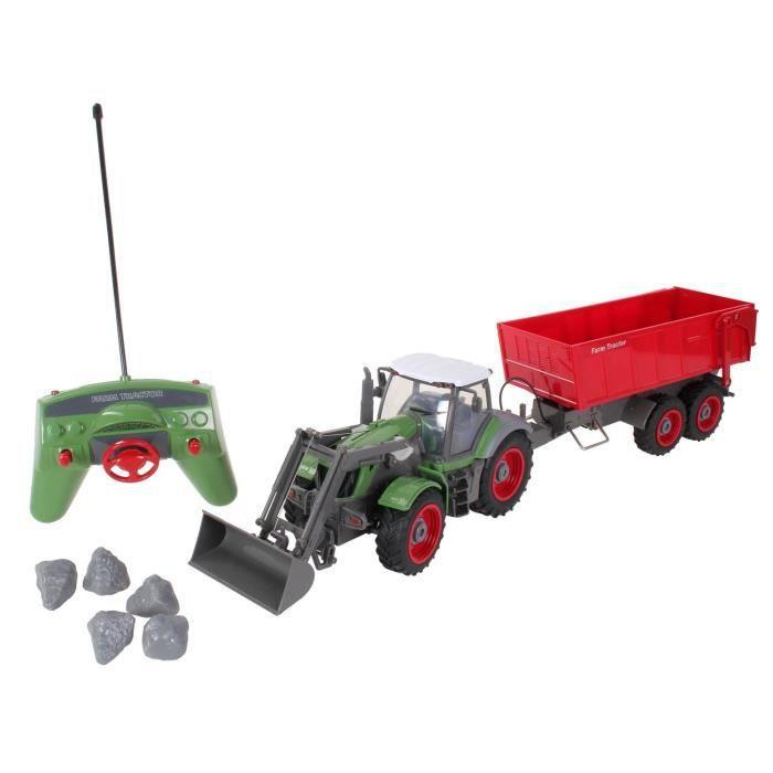 radiocommande revell tracteur avec remorque