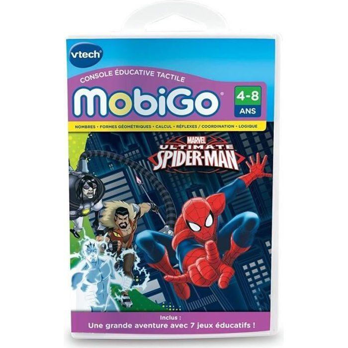 Vtech jeu mobigo spiderman achat vente jeu console - Les jeux de spiderman 4 ...