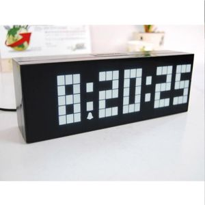 horloge murale numerique achat vente horloge murale numerique pas cher soldes d hiver. Black Bedroom Furniture Sets. Home Design Ideas
