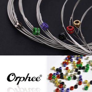 GUITARE Orphee RX15 6pcs Guitare Electrique Jeu de Cordes