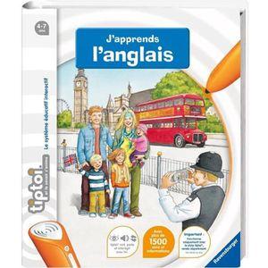 LIVRE INTERACTIF RAVENSBURGER Tiptoi® Livre - J'apprends L'Anglais