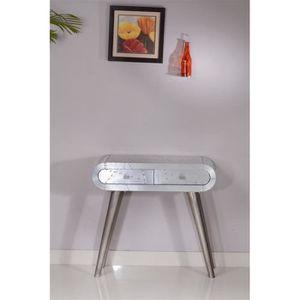 meuble t l phone downtown aluminium m tal achat vente petit meuble rangement meuble. Black Bedroom Furniture Sets. Home Design Ideas