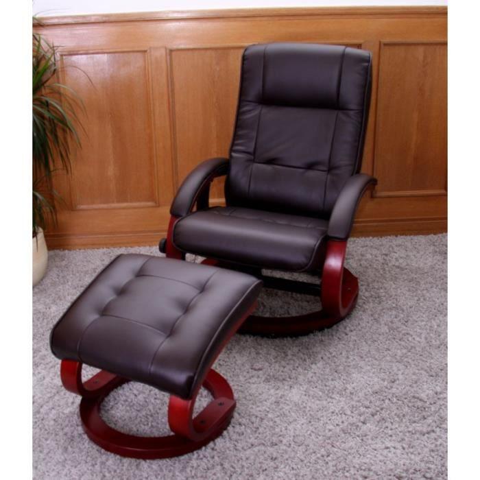 Fauteuil de massages et de relaxation brun achat vente fauteuil cdiscount - Fauteuils de massage ...