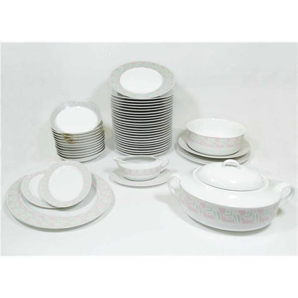 Service de table vaisselle en porcelaine de baviere pour 12 personnes achat - Vaisselle en porcelaine ...