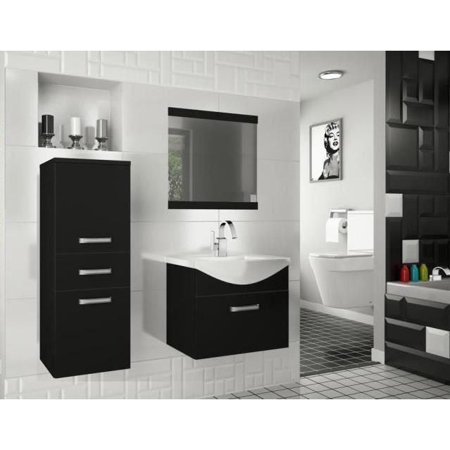 Meubles de salle de bain avec vasque et miroir achat vente salle de bain - Meuble salle de bain avec vasque posee ...