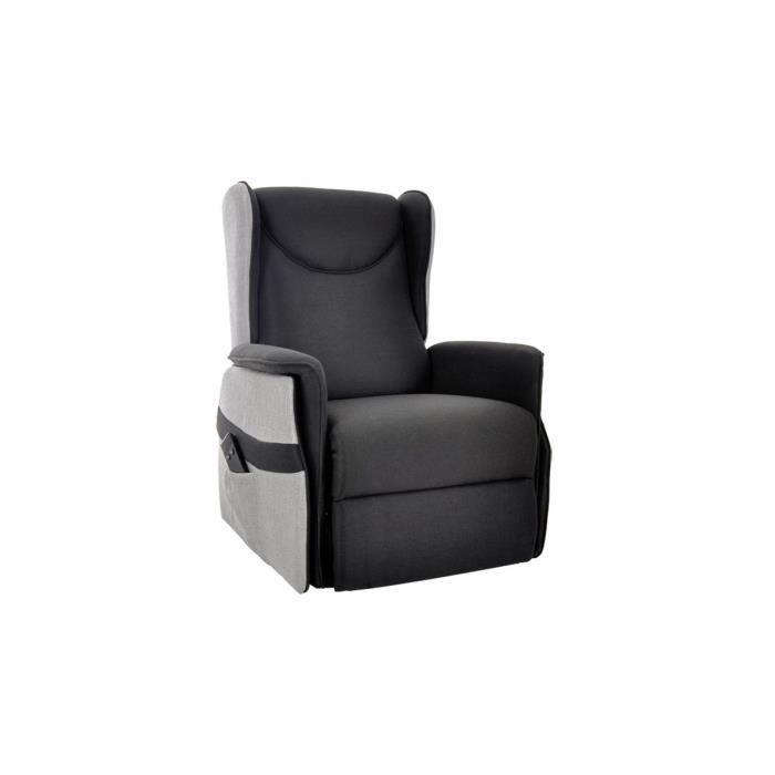 maison canape canapes leven xl fauteuil releveur noir f  auc