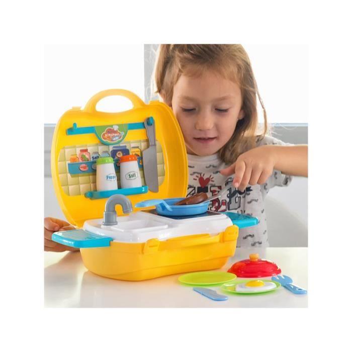 Cuisine jouet avec mallette et accessoires achat for Soldes accessoires cuisine