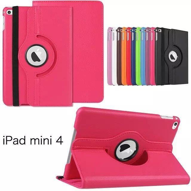 Ipad mini 4 360 rotation housse etui coque cover for Housse ipad mini 4