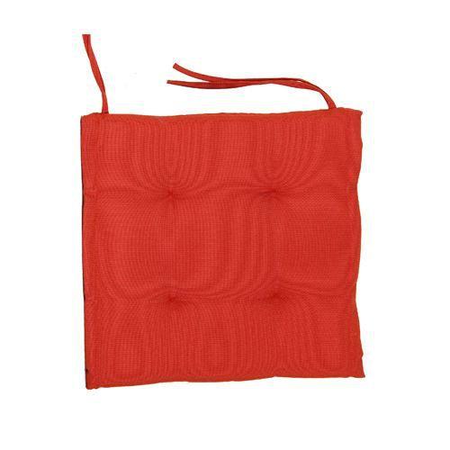 Coussin Chaise De Jardin Rouge