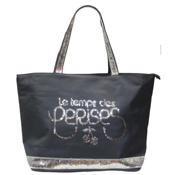 grand sac cabas format a4 le temps des cerises gli achat. Black Bedroom Furniture Sets. Home Design Ideas