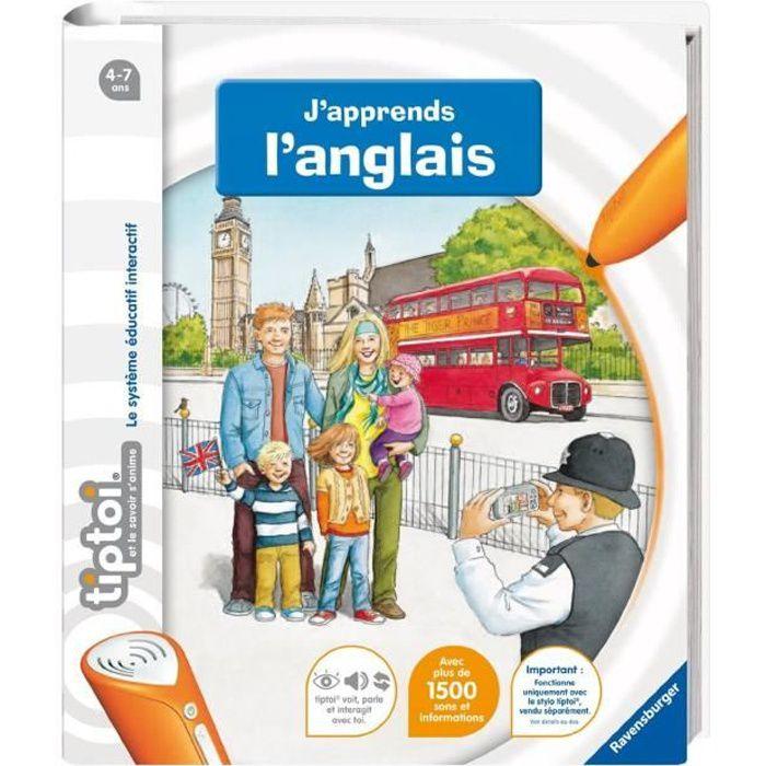 Tiptoi® Livre J'apprends L'Anglais Achat / Vente livre interactif