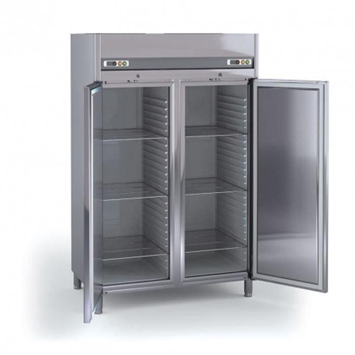armoire emboutie gn 2 1 positive 2 portes l1295 x p800 x h2100 mm coreco achat vente. Black Bedroom Furniture Sets. Home Design Ideas