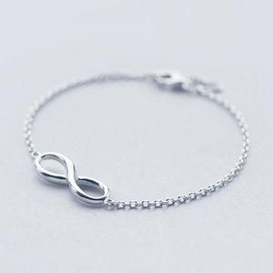 bracelet infini argent 925 achat vente pas cher les. Black Bedroom Furniture Sets. Home Design Ideas