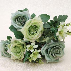 bouquet de fleur artificielle pour mariage achat vente bouquet de fleur artificielle pour. Black Bedroom Furniture Sets. Home Design Ideas