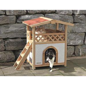 cabane pour chat achat vente cabane pour chat pas cher. Black Bedroom Furniture Sets. Home Design Ideas