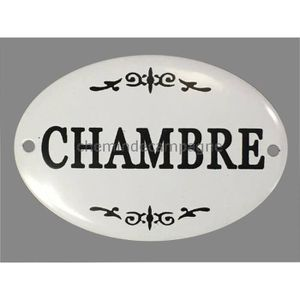 Plaque emaillee decoratives achat vente plaque for Plaque de porte decorative