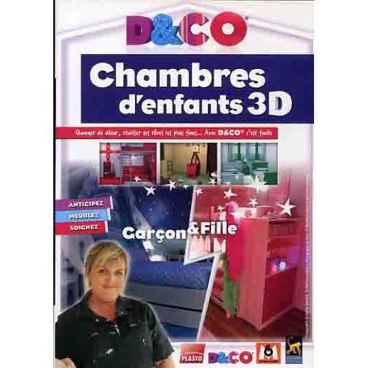 D co chambres d 39 enfants 3d pc dvd rom prix pas cher for Photos chambres d enfants