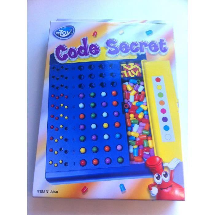 jeu de societe trouver le code secret achat vente jeu soci t plateau cdiscount. Black Bedroom Furniture Sets. Home Design Ideas