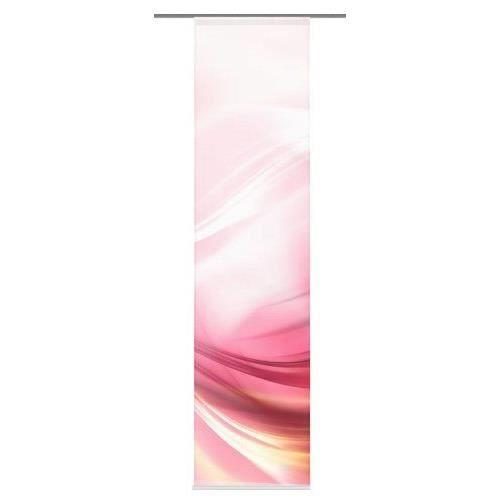 home fashion 87220 723 lincoln panneau japonais polyester ros 245 x 60 cm achat vente. Black Bedroom Furniture Sets. Home Design Ideas