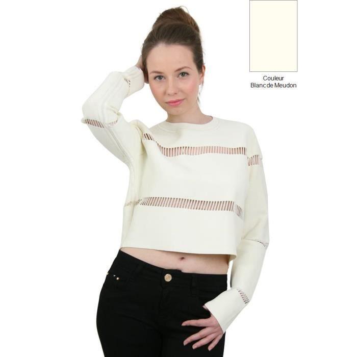 sunshine top court femme blanc de me blanc achat vente t shirt cdiscount. Black Bedroom Furniture Sets. Home Design Ideas