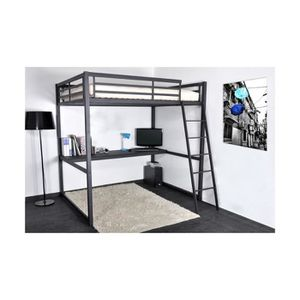 tablette pour lit mezzanine achat vente tablette pour lit mezzanine pas cher cdiscount. Black Bedroom Furniture Sets. Home Design Ideas