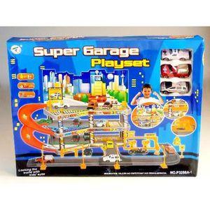 Garage jouet voiture 3 etage achat vente jeux et for Achat voiture garage