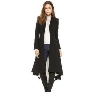 MANTEAU - CABAN Manteau femme hiver manches longues chaud Casual