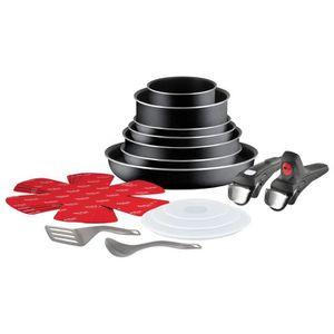 Casserole tefal induction manche amovible achat vente casserole tefal induction manche - Tefal batterie de cuisine ...