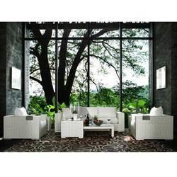 Salon de jardin tatta iii blanc coconut coussin achat - C discount salon de jardin ...