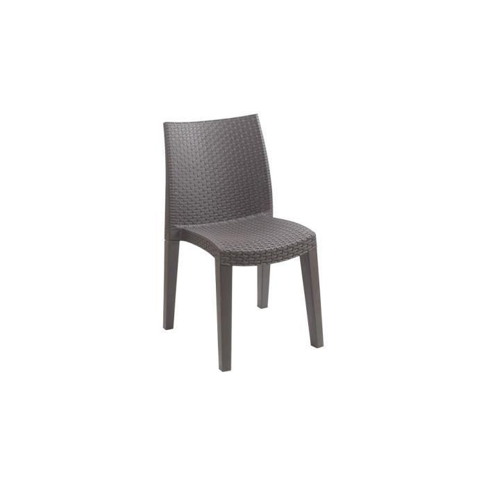 chaise de jardin r sine tr ss e achat vente fauteuil. Black Bedroom Furniture Sets. Home Design Ideas