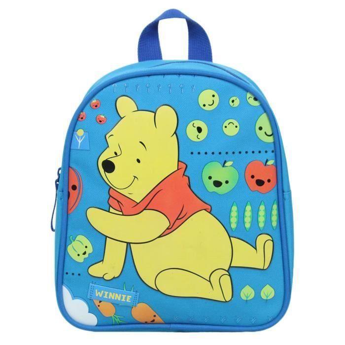 winnie l 39 ourson petit sac dos junior enfant gar on bleu disney maternelle go ter achat. Black Bedroom Furniture Sets. Home Design Ideas