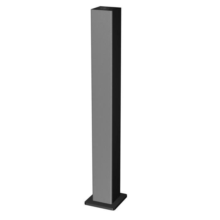 tour d 39 enceinte digitale bluetooth modele dbt28x silver enceinte et retour avis et prix pas. Black Bedroom Furniture Sets. Home Design Ideas
