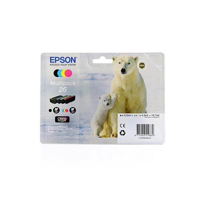 epson expression premium xp 510 original epson c13t26164010 t2616 cartouche d 39 encre. Black Bedroom Furniture Sets. Home Design Ideas