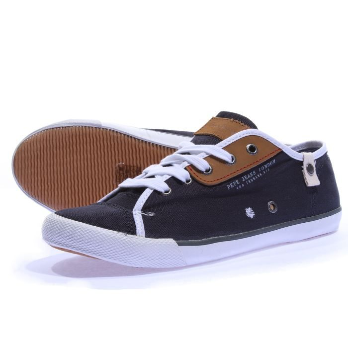 Jean Pepe Jeans Homme Pepe Jeans Baskets Brit Homme
