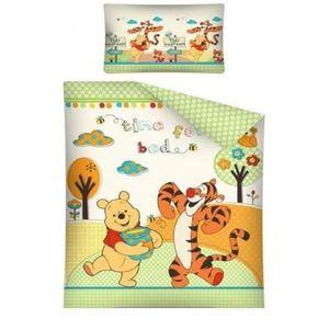 parure de lit bebe winnie l ourson achat vente parure de lit bebe winnie l ourson pas cher. Black Bedroom Furniture Sets. Home Design Ideas