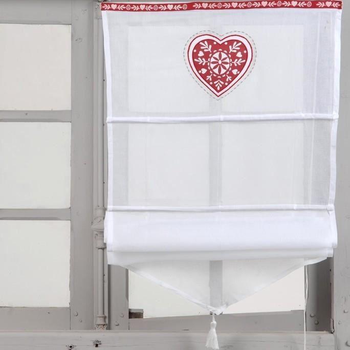 store bateau scandinavia 45x160 amadeus achat vente store de fen tre 100 coton les soldes. Black Bedroom Furniture Sets. Home Design Ideas