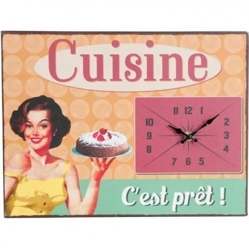 pendule vintage cuisine c 39 est pret achat vente. Black Bedroom Furniture Sets. Home Design Ideas