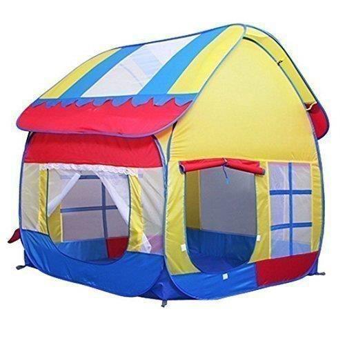 grand tente de jeu pour enfants de plein air et maisons. Black Bedroom Furniture Sets. Home Design Ideas