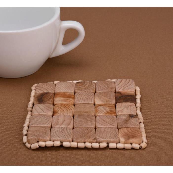 Sous plat original rectangulaire fait main sous plat tasse - Sous main original ...
