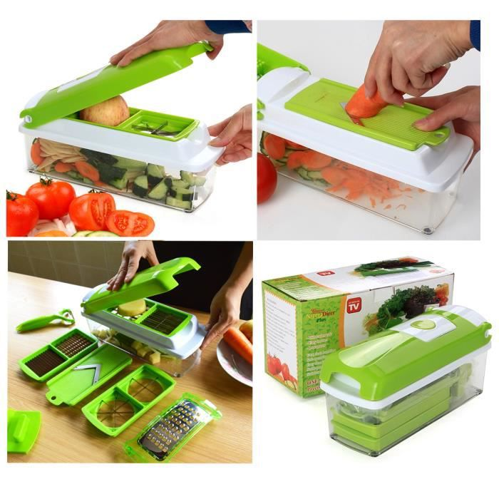 D coupe l gumes et fruits nicer dicer achat vente - Decoupe legumes coupe legumes oignons et fruits ...