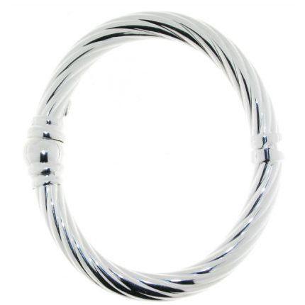 jonc argent torsade 8mm pour femme achat vente bracelet gourmette jonc argent torsade 8mm. Black Bedroom Furniture Sets. Home Design Ideas