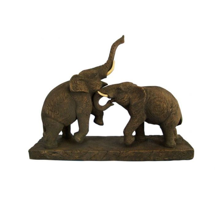 sculpture deco elephant achat vente statue statuette sculpture deco elephant cdiscount. Black Bedroom Furniture Sets. Home Design Ideas