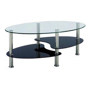 Table basse verre trempe noir achat vente table basse verre trempe noir p - Table basse verre noir ...