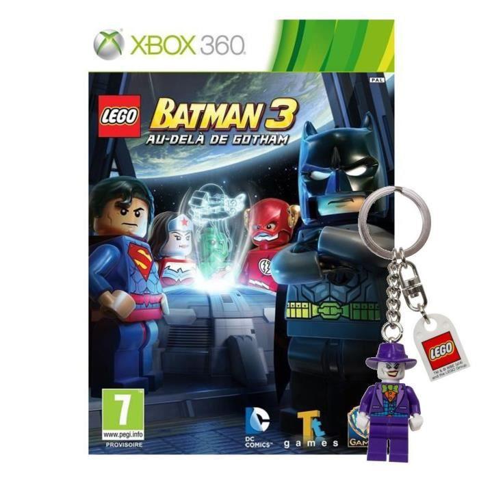 Lego batman 3 au del de gotham xbox 360 porte cl achat for Porte xboxlive
