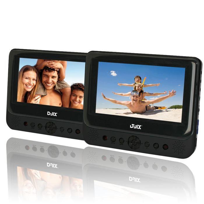 LECTEUR DVD PORTABLE D-Jix PVS902-60LDP Lecteur DVD portable + support