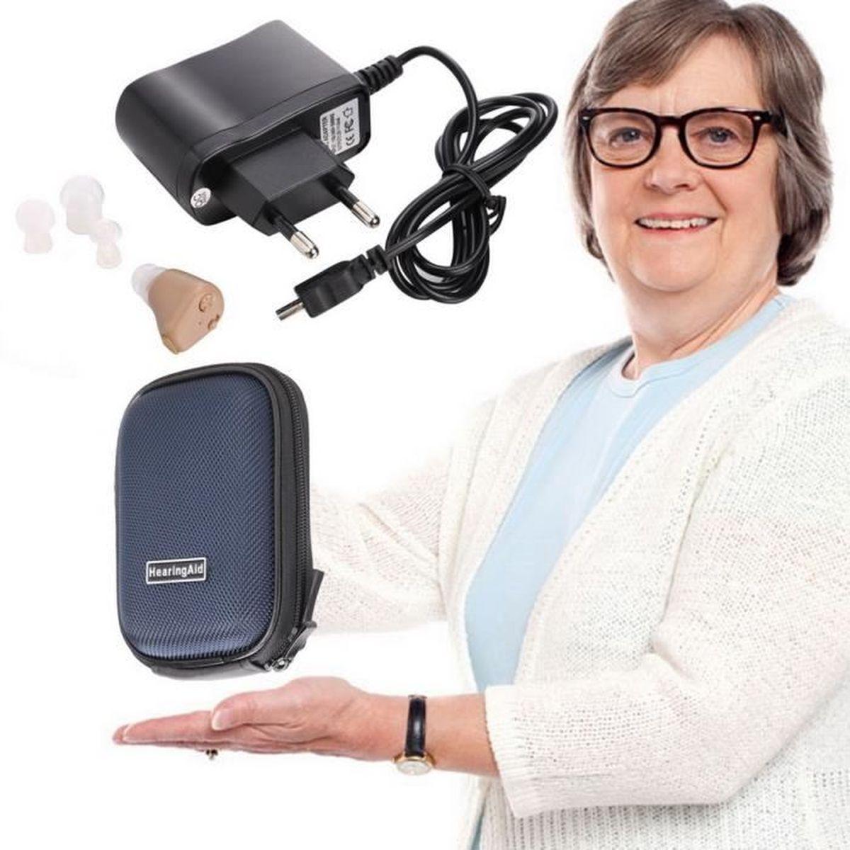 proth se auditive digital oreille rechargeable audition amplificateur auditif achat vente. Black Bedroom Furniture Sets. Home Design Ideas