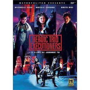 DVD FILM DVD Coffret Maggie Cheung : Heroic trio ; Execu...