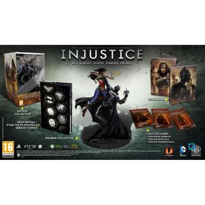 JEUX XBOX 360 INJUSTICE COLLECTOR / Jeu console XBOX 360