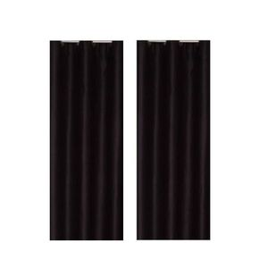 rideau occultant noir achat vente rideau occultant noir pas cher cdiscount. Black Bedroom Furniture Sets. Home Design Ideas