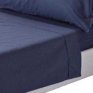 draps plat en coton egyptien achat vente draps plat en coton egyptien pas cher cdiscount. Black Bedroom Furniture Sets. Home Design Ideas